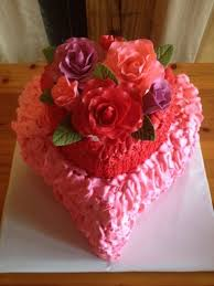 How To Decorate Heart Shaped Cake Top Heart Cakes Cakecentral Com