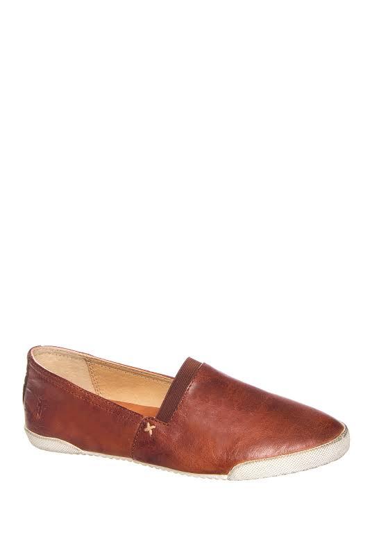Frye Melanie Slip On Casual Boots Cognac Medium 8.5 3471146-COG-8.5