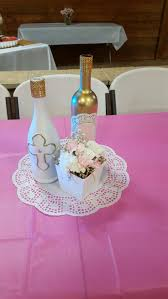 baptism centerpieces christening decorations boy