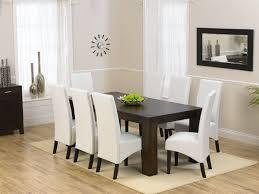 Black Dining Table White Chairs Turin Dark Dining Table 200cm U0026 8 Savanna Dark Oak With White Faux