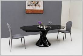 Awesome Black Lacquer Dining Room Set Photos Home Design Ideas - Black lacquer dining room set