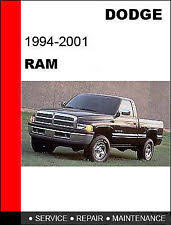 1999 dodge ram service manual 2001 dodge ram service manual ebay