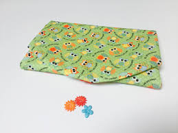 owl theme baby changing mat travel nappy change diaper wallet