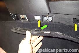 bmw e60 5 series center console replacement pelican parts