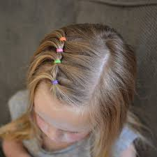 simple hairstyles with one elastic best 25 toddler hairstyles ideas on pinterest toddler girls