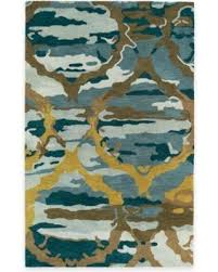 2 x 3 accent rugs new savings on kaleen brushstrokes ikat 2 x 3 accent rug in blue