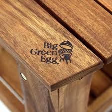 Acacia Table Hardwood Tables Acacia Big Green Egg