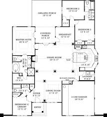 3 Bedroom Open Floor House Plans 290 Best Plans Images On Pinterest House Floor Plans House