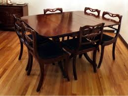 Wood Dining Room Chairs Antique Dining Room Table Chairs U2013 Home Decor Gallery Ideas