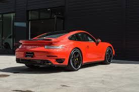 porsche orange 2016 porsche 911 turbo s for sale in colorado springs co 16052