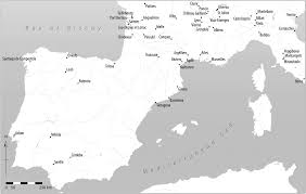 Southern France Map Maps Of Places Mentioned In The Text