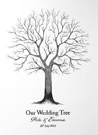 wedding tree tree illustration