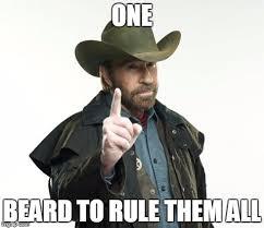 Chuck Norris Beard Meme - chuck norris finger meme imgflip