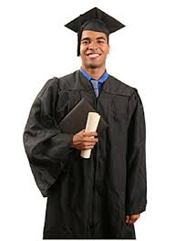 college graduation gown associates and bachelor s graduation regalia cap and gown