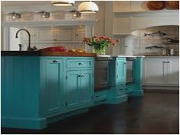colorful kitchen islands awesome teal colored kitchen island sammamishorienteering org
