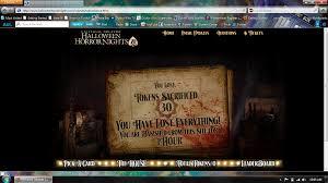 twitter halloween horror nights halloween horror nights orlando website update designingfear