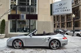 gold porsche convertible 2008 porsche 911 turbo stock b439aa for sale near chicago il