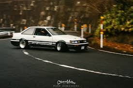 toyota celsior drift the living legend sato u0027s gorgeous ae86 stancenation form