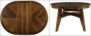circle table with leaf round dining room table with leaf tables excellent cool brown 19