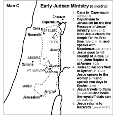 Judea Map Maps New Testament Bible Maps By Generation Word