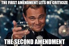 Second Amendment Meme - leonardo dicaprio cheers meme imgflip