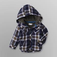 route 66 newborn boy s flannel shirt jacket