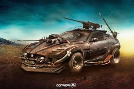 the three cars that would this is what the jaguar f type would look like in u0027mad max u0027
