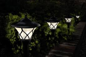 utica searching for stealing solar powered lawn lights