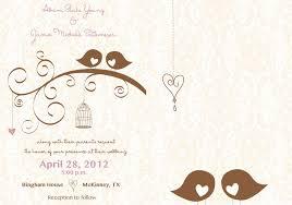 birds wedding invitations reduxsquad