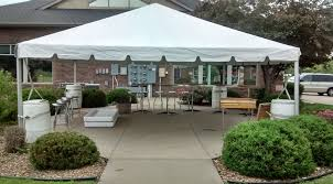 tent for rent rent 20 x 20 frame party event tent temporary structure iowa