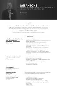 System Administrator Resume Example by System Administrator Resume Samples Visualcv Resume Samples Database