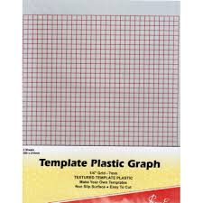 Plastic Template Sheets Easy Template Plastic Br 1 4 Grid