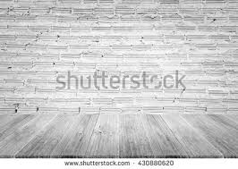 white brick wall wooden floor architectural stock vector 532058623
