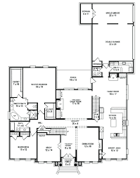 5 bedroom house plans with basement house plans single story cool single story 5 bedroom house plans