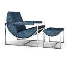 West Elm Outdoor Chairs Bower Lounge Chair And Ottoman By West Elm 3d Model Max Obj Mtl Tga