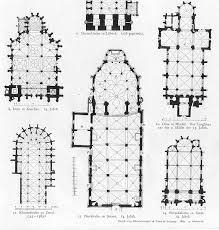 gothic cathedral floor plan german church floor plans gothic architecture print