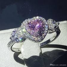 real promise rings images 2018 heart shape promise ring 100 real soild 925 sterling silver jpg