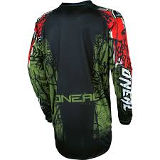 motocross gear ireland oneal element 2017 vandal motocross jersey o u0027neal off road racing