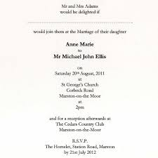 wedding invite verbiage informal wedding reception invitation wording
