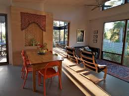 rustic dining room tables with benches eclectic dining room by
