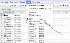 Sort A Pivot Table Google Spreadsheets Pivot Tables