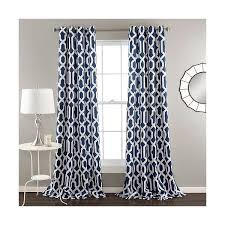 Patterned Window Curtains Wonderful Navy Blue Patterned Curtains And Best 20 Target Curtains