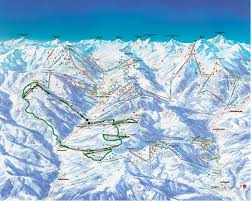 Alps On A Map Skicircus Runden Infrastruktur In Saalbach Hinterglemm