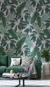 Wallpaper Designs For Home Interiors by 6 Wallpapers That Banish Stress Tropical Wallpaper Wallpaper