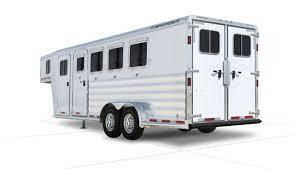 trailers gooseneck trailers 8541 trailer