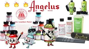 angelus paint starter kit u0026 collector edition colors unboxing