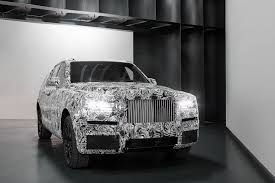 roll royce rouce rolls royce u0027s upcoming suv looks like a supersized phantom the verge