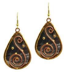 s earrings anju earrings metal anju e153 en reverie
