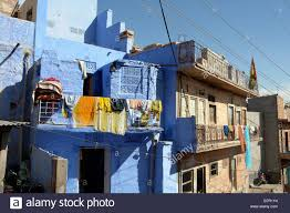 Painted Houses Traditional Brahmin Blue Painted Houses In The Old City Of Jodhpur