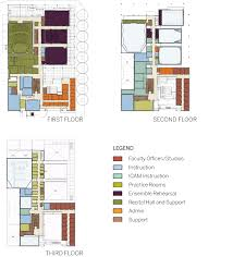 Concert Hall Floor Plan Ucsd Conrad Prebys Music Center Lmn Architects Seattle